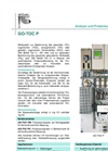 Model GO-TOC P - Total Organic Carbon Measuring Systems- Brochure