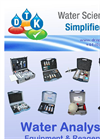 DTK Water Analysis Product Catalogue