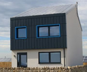 'Smart' carbon positive energy house