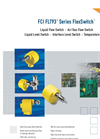 FlexSwitch - Model FLT93B BASIC - Premium Flow and Temperature Monitoring Switch Brochure
