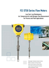 Model ST50/ST51 - Insertion Mass Flow Meters Brochure