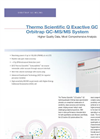 Q Exactive GC Orbitrap GC-MS/MS System – Higher Quality Data, Most Comprehensive Analysis - Specification Sheet