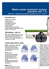 Waste Water Treatment Systems Brochure