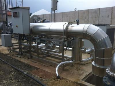 Siloxa - Model GK - Gas Cooling Unit