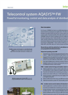 Aqasys - Version FW - Powerful Monitoring, Control and Data Analysis of Distributed Stations Software Brochure