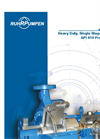 SCE, Heavy Duty, Single Stage, Overhung API 610 Process Pump Brochure
