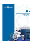 RON, Heavy Duty, Two stage, API 610 Process Pump Brochure