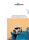 HVN, Double Suction Heavy Duty Process Centrifugal Pumps Brochure