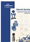 Hydraulic-Decoking-System. Charge Pump, Pit Pump, Coke-Cutting Pump, Crosshead, Drill Stem Drive Brochure
