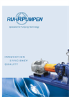 CPP-21. Heavy Duty, Single Stage, ANSI Chemical Process Pump Brochure