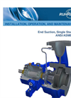 IOM Manual CPP-21 ANSI Pump Brochure