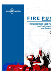Fire Pumps. Horizontal Split Case Pumps Listed for Fire Protection Service and Pachage Systems Brochure