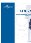 HZ & WX. Vertical, Single Stage Circulating Pump with Mixed Flow Bowls Brochure