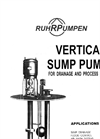 VSP. Vertical Sump Pumps for Drainage and Process Service Brochure