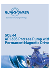 Model SCE-M - Permanent Magnetic Driven Horizontal Process Pump Brochure