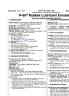 P-80 - Emulsion Temporary Assembly Lubricant- Safety Data Sheet SDS)