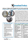 Food & Beverage Cleaner Flyer