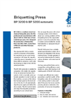 BP 3200 & BP 3200 Automatic - Briquetting Press Brochure
