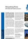 BP 4000 & BP 4000 Automatic - Briquetting Press Brochure