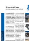 BP 6000 Automatic & BP 6000HD - Briquetting Press Brochure
