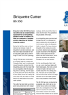 BS 350 - Saw Briquette Cutter Brochure