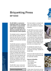 BP 5000 Briquetting Press Brochure