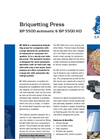 BP 5500 Briquetting Press Brochure