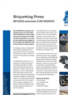 BP 6000 Briquetting Press Brochure
