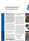 BP 6500 HD With ABCS - Briquetting Press Brochure