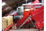 Straw Briquetting Plant for 1800 - 7200 kg/hour