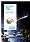 Boomer - Model XE/WE - Face Drill Rigs Brochure