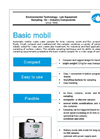 ORI - Model Basic - Automatic Mobile Waste Water Sampler Datasheet