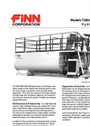 T-330 HydroSeeder - 3,000 Gallon Working Capacity Tank Specification Sheet - Datasheet