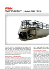 FINN HydroSeeder - Model T170 - 1,500 Gallon Working Capacity Tank - Datasheet