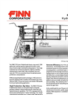 T-170 HydroSeeder - 1,500 Gallon Working Capacity Tank - Specification Sheet