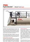 FINN HydroSeeder - Model T170 Super - 1,500 Gallon Working Capacity Tank - Datasheet