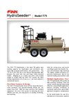 FINN HydroSeeder - Model T75 - 700 Gallon Working Capacity Tank - Datasheet
