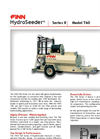 FINN HydroSeeder - Model Series II/T60 - 600 Gallon Working Capacity Tank - Datasheet