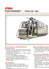 HydroSeeder Titan - Model 330 / 400 - More Horsepower With High Efficiency Hydraulic System - Datasheet