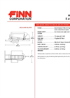 BB-302 Bark Blowers - 1.5 Cubic Yard Hopper Capacity Technical Specifications