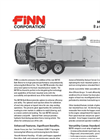 BB-705 Bark Blowers - 4.5 Cubic Yard Hopper Capacity - Specification Sheet Datasheet