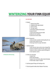 Winterizing Your FINN Equipment - Brochure