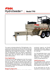 FINN HydroSeeder - Model T90 - 800 Gallon Working Capacity Tank - Datasheet