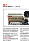 FINN HydroSeeder - Model T30 - 335 Gallon Working Capacity Tank - Datasheet