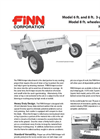 FINN Krimper - Model 6 & 8 Ft. - 3-Point Hitch Wheeled Hydraulic - Datasheet