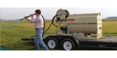 FINN HydroSeeder - Model T30 - 280 Gallon Working Capacity Tank