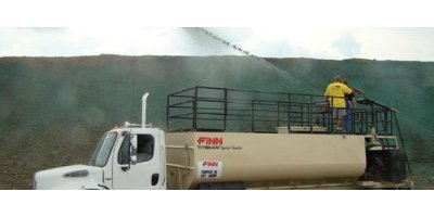 FINN HydroSeeder - Model TITAN - More Horsepower With High Efficiency Hydraulic System