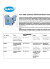 Model APA 6000 - Ammonia Monochloramine Analyzer- Brochure