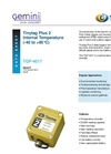 Tinytag Plus - Model 2 - TGP-4017 - Rugged Waterproof Temperature Data Logger - Brochure