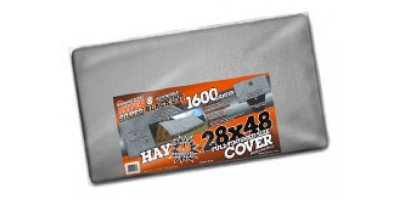 Americover - Heavy Duty Continuous Exposure Sunshield Silver/Black Tarps